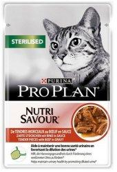 Purina Pro Plan Cat Sterilised wołowina saszetka 85g