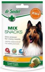 Dr Seidel Smakołyki dla psów 2w1 sierść/oddech 90g