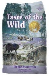 Taste of the Wild Sierra Mountain Canine z mięsem z jagnięciną 13kg