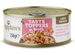Applaws Dog puszka z kurczakiem, szynką i warzywami 156g