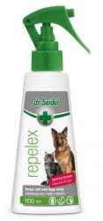 Dr Seidel Repelex - Płyn utrzymujący psy i koty z daleka  100ml
