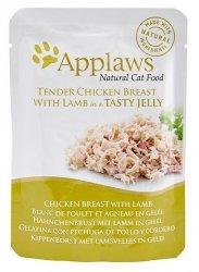 Applaws saszetka dla kota kurczak z jagnięciną w galaretce 70g