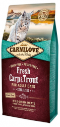 Carnilove Adult Cat Fresh Carp & Trout Sterilised 2kg