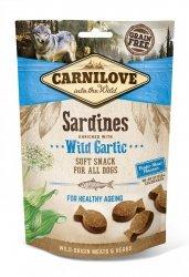 Carnilove Semi Moist Snack Sardines Enriched Garlic 200g