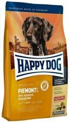 Happy Dog Supreme Piemonte Kaczka, Ryby i Kasztany 300g