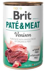 Brit Pate & Meat Venison 400g - Dziczyzna