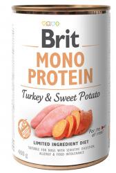 Brit Mono Protein Turkey & Sweet Potato 400g - Indyk