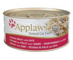 Applaws puszka dla kota Kurczak i Kaczka 156g