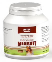 Mikita Pet Calcium megavit 150 tabl.