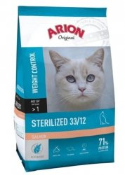 ARION ORIGINAL CAT Sterilised salmon 7,5kg