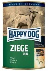 12x Happy Dog Ziege Puszka 100% Koza 400g