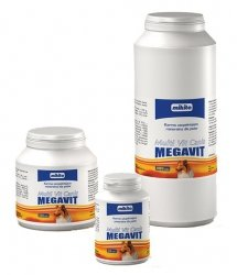 Mikita Megavit Multi-Vit Canis - witaminy, minerały i aminokwasy dla psów 150 tabl.