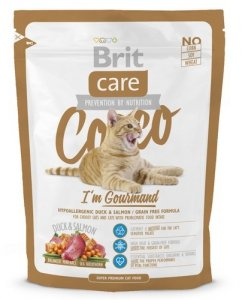 Brit Care Cat Cocco I'm Gourmand Duck & Salmon 400g