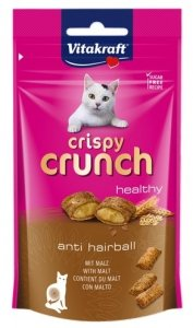 Vitakraft Cat Crispy Crunch słód 60g [2428811]