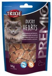 Trixie Premio Ducky Hearts - kacze serca 50g