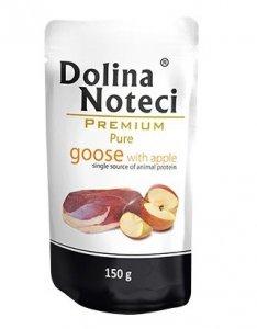 Dolina Noteci Premium Pies Pure Gęś i jabłko saszetka 150g