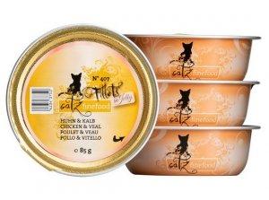 Catz Finefood Filety N.407 Kurczak/Cielęcina tacka 85g