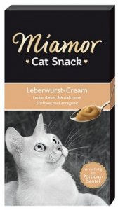 Miamor Cat Confect Leberwurst Cream 6x15g