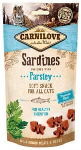 Carnilove Cat Crunchy Snack Sardines & Parsley 50g