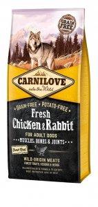 Carnilove Dog Fresh Chicken and Rabbit 12kg