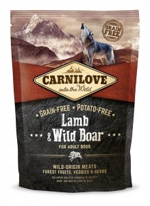 Carnilove Lamb and Wild Adult 1,5kg