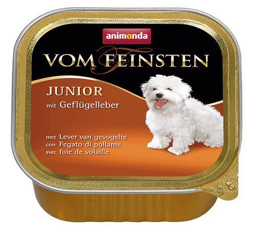 Animonda vom Feinsten Junior Wątróbka drobiowa 150g