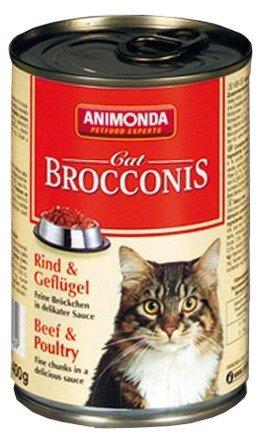 Animonda Brocconis Kot  Wołowina + Drób 400g