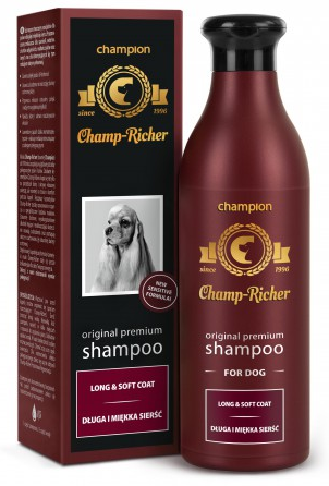 Champ-Richer Champion Szampon dla sierści długiej i miękkiej 250ml
