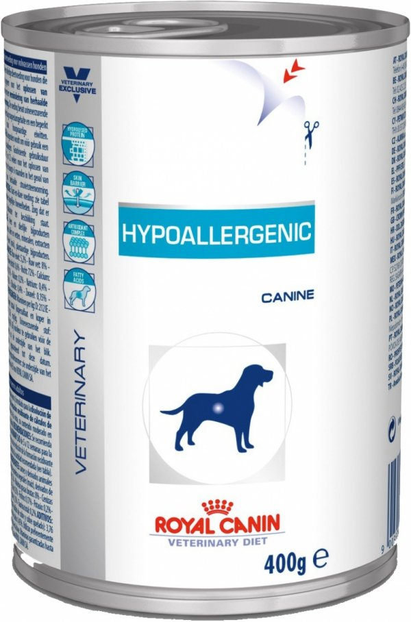 ROYAL CANIN Hypoallergenic Canine 400 g (puszka)