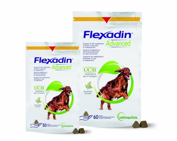 Vetoquinol Flexadin Advanced 30 mięsnych kąsków o wysokiej smakowitości