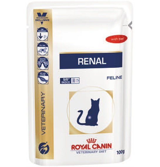 ROYAL CANIN CAT Renal beef 85 g (saszetka)