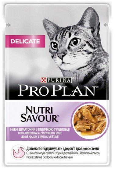 Purina Pro Plan Cat Delicate indyk saszetka 85g
