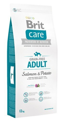 Brit Care Adult Salmon and Potato 12kg