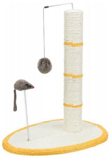 TRIXIE Drapak dla kota z piłką i myszką 50cm [TX-4306]