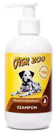 Over Zoo Szampon dla psów krótkowłosych 250ml