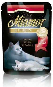 Miamor Ragout Royale Kitten z Wołowiną w galaretce saszetka 100g