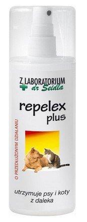 Dr Seidel Repelex Plus - Płyn utrzymujący psy i koty z daleka - spray 100ml
