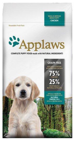 Applaws Puppy Small & Medium Breed Kurczak 2kg