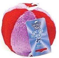 Yarro piłka pluszowa czerwono-fioletowa 12cm [Y0026]