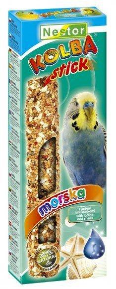 Nestor Kolba Papuga mała morska - jod i muszle 2szt