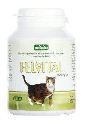 Mikita Felvital + Tauryna 100 tabletek