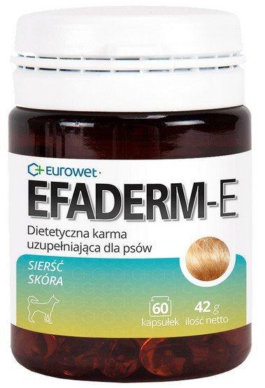 Eurowet Efaderm-E Pies 60 kapsułek