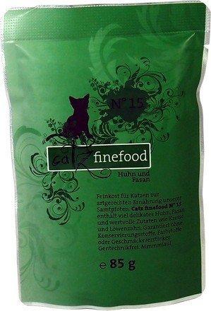 Catz Finefood N.15 Kurczak i Bażant saszetka 85g