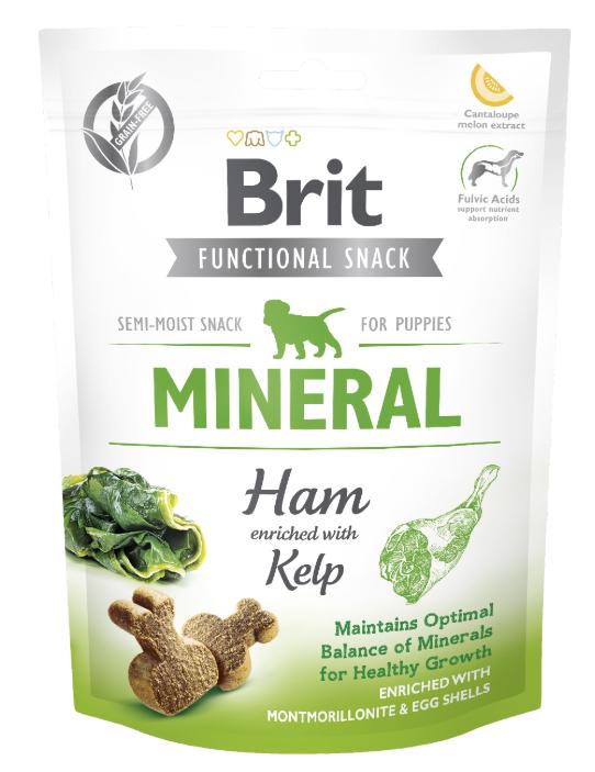 Brit Care Snack Mineral 150g Szynka