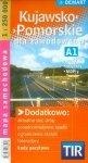 Kujawsko-Pomorskie dla zawodowców TIR mapa samochodowa 1:250 000