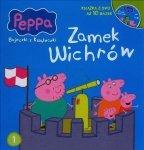 Świnka Peppa Bajeczki z książeczki 1 Zamek wichrów + DVD