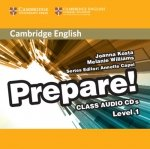 Cambridge English Prepare! 1 Class Audio 2CD