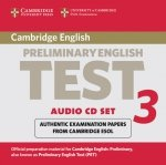 Cambridge Preliminary English Test 3 Audio CD Set