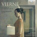 Vierne Spleen Et Detresse Op.38 Piano Quintet Op.42