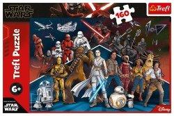 Puzzle 160 Star Wars Bohaterowie Gwiezdnych Wojen